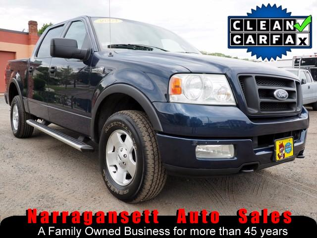2004 Ford F-150 Super Crew 4X4 FX4 Auto Leather Moonroof