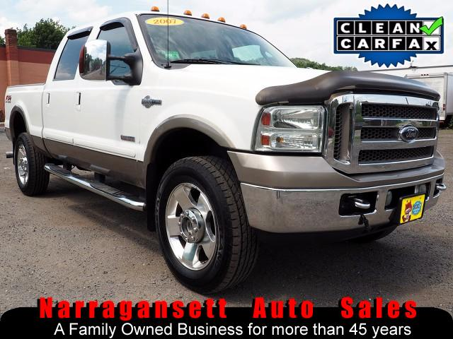 2007 Ford F-350 SD 4X4 SuperCrew King Ranch Diesel Auto Fully Loaded