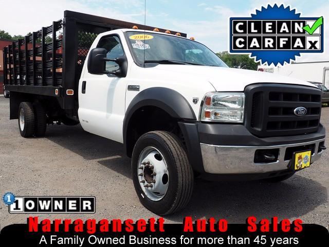 2006 Ford F-550 16' Stake Body V-10 Auto Air 1-Owner Clean Truck