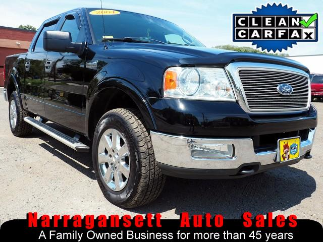 2004 Ford F-150 XLT Lariat 4X4 SuperCrew Leather Moonroof 130K