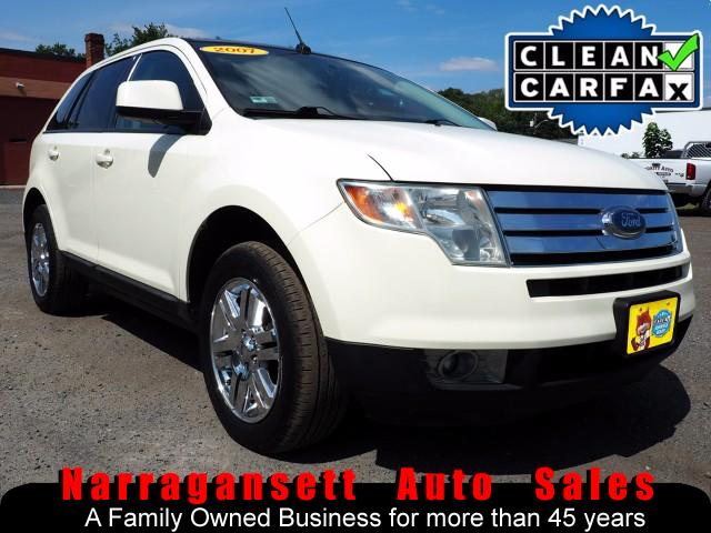 2007 Ford Edge SEL AWD Leather Panoramic Roof NAV Chrome Wheels