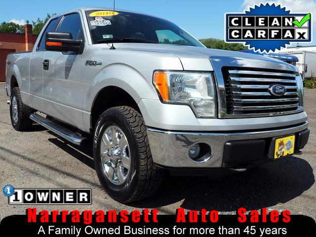 2010 Ford F-150 XLT 4X4 Super Cab Auto Air Full Power 1-Owner