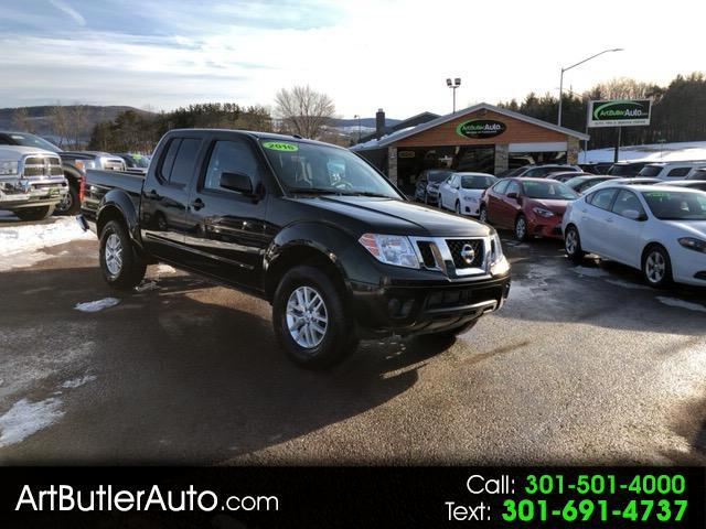 2016 Nissan Frontier SV Crew Cab AT 4WD