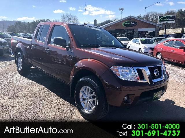2017 Nissan Frontier SV Crew Cab LWB 4WD