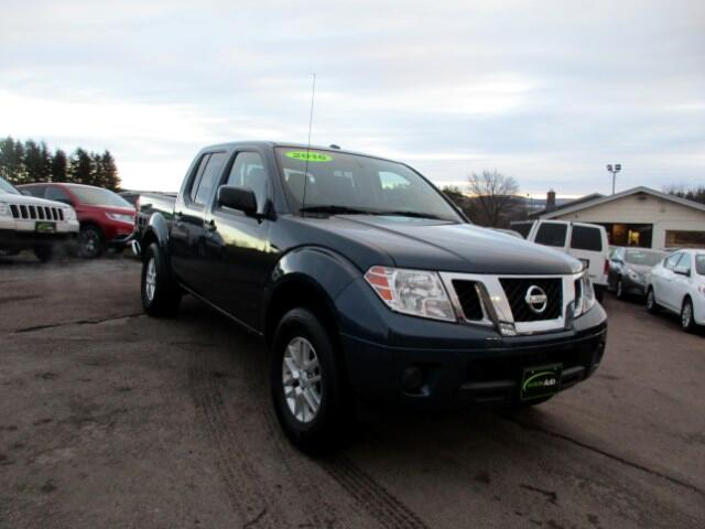 2016 Nissan Frontier SV Crew Cab 4WD SWB