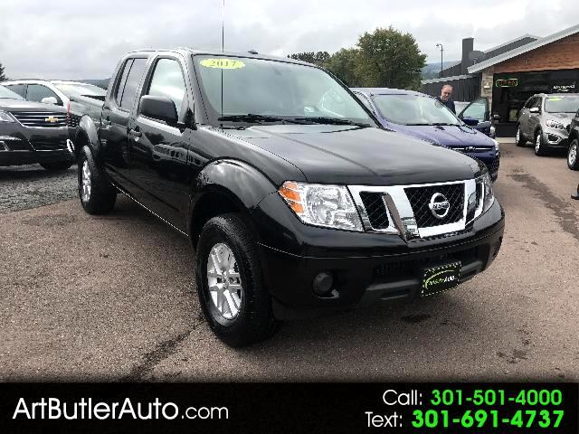 2017 Nissan Frontier SV Crew Cab AT 4WD