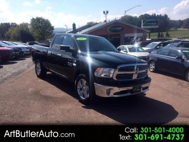 2017 RAM 1500 SLT Quad Cab 4WD Big Horn Edition