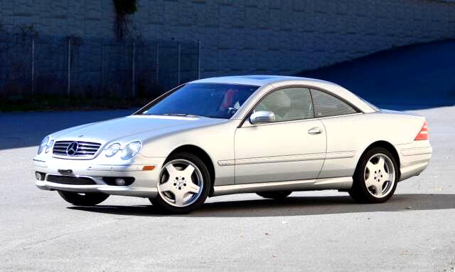 2002 Mercedes CL-Class Those seeking the ultimate CL will want to step up to the CL600 With a 362-h