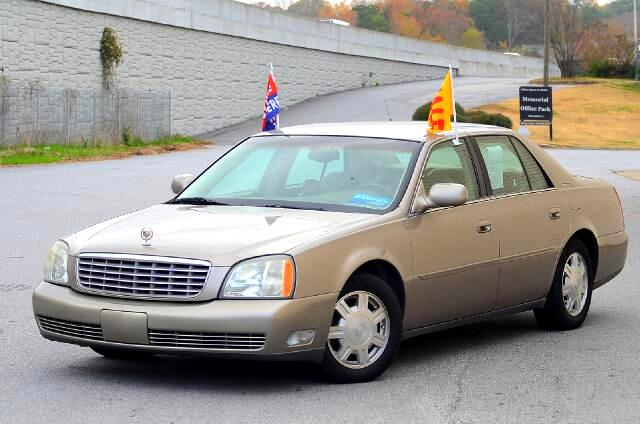 2004 Cadillac DeVille The 2004 Cadillac Deville is in a vehicle category all its own  At Olympic Au