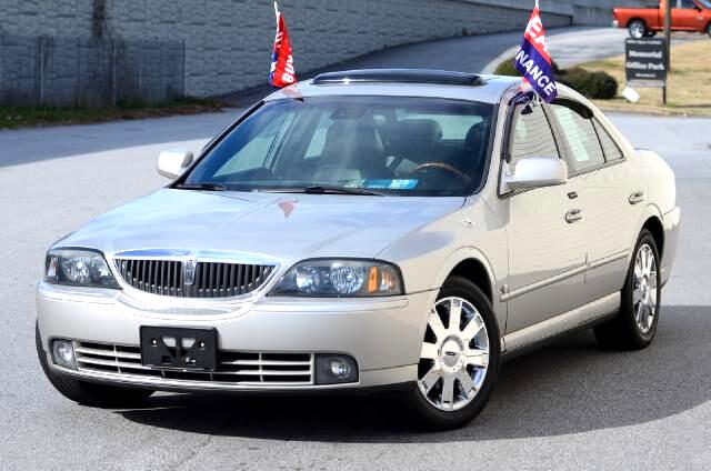 2002 Lincoln LS The 2002 Lincoln LS is a plush dream Keyless Entry sophisticated and shiny Black Le