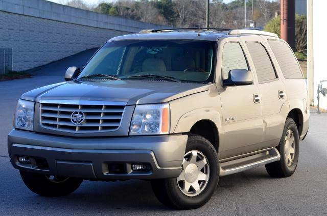 2002 Cadillac Escalade The 2002 Cadillac Escalade needs no introduction ONE OWNER NO ACCIDENTS Ful