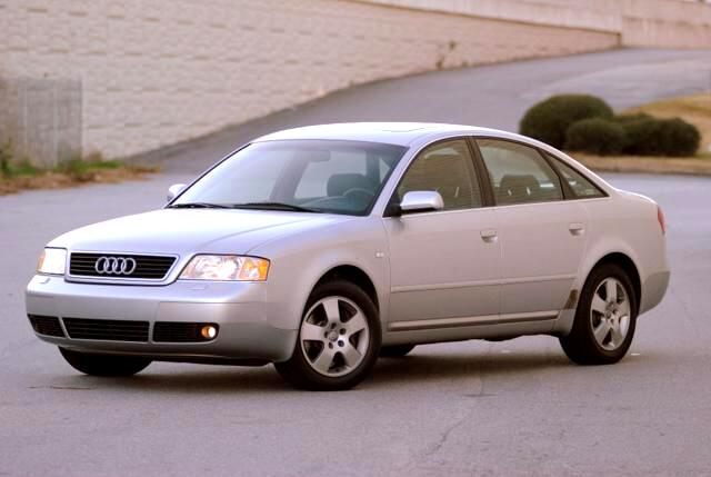 2000 Audi A6 Olympic Auto Sales has for sale the Elegant Audis 27-litre twin-turbo V6 petrol engin
