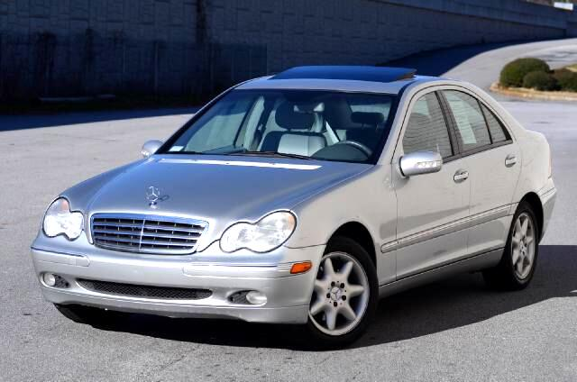 2003 Mercedes C-Class Olympic Auto Sales presents to you the 2003 Mercedes-Benz C240 V6 Luxury Sedan
