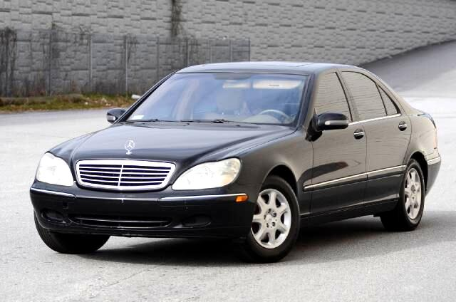 2001 Mercedes S-Class Disclaimer Prices shown online reflect Down Payments Prices do not include