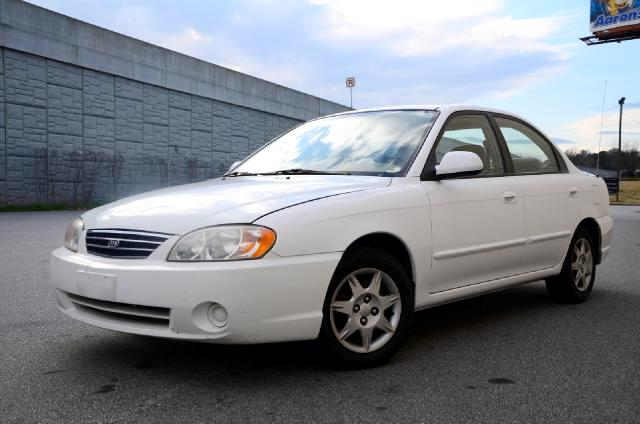 2003 Kia Spectra Olympic Auto Sales presents to you the gas-efficient a 2003 Kia Spectra This Kia i