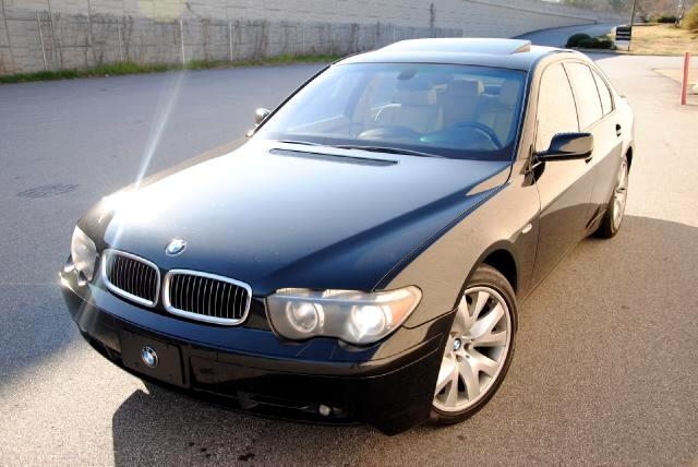 2003 BMW 7-Series Olympic Auto Sales presents to you a black 2003 BMW 745i this vehicle is in immacu