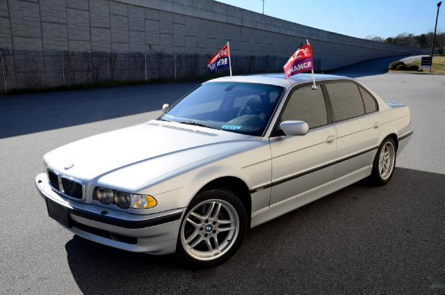 2001 BMW 7-Series Olympic Auto Sales presents to you a silver 2001 BMW 740iL This is the flagship v