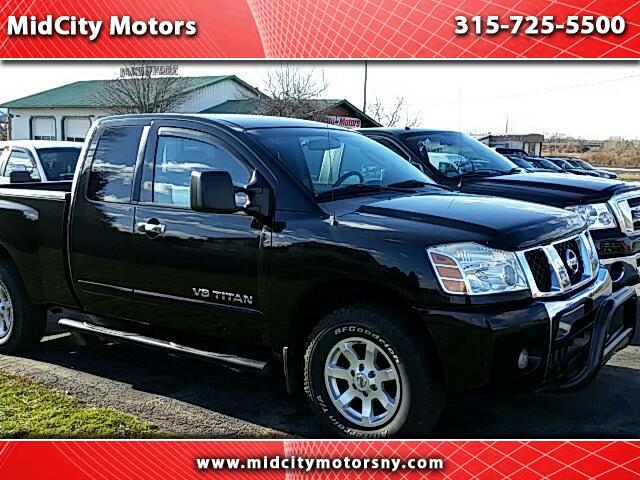 used 2006 nissan titan se king cab 4wd for sale in utica