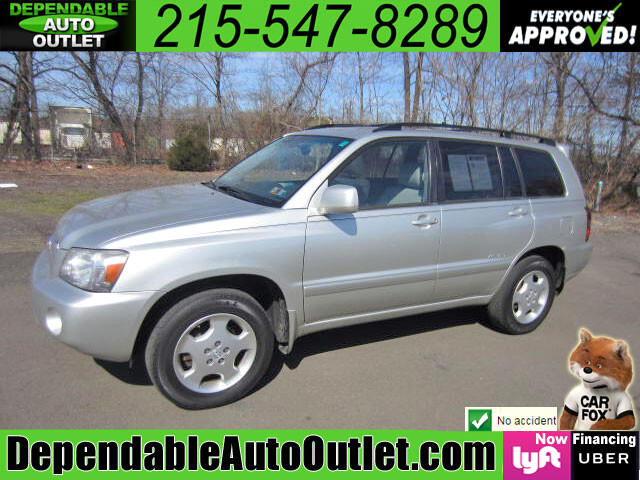 2006 Toyota Highlander Limited V6 4WD w/3rd Row