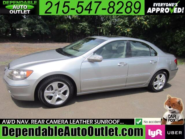2007 Acura RL SH-AWD w/NAV Rear Camera