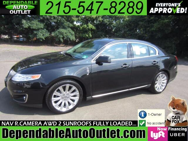 2010 Lincoln MKS 3.7L AWD w/NAV Rear Camera