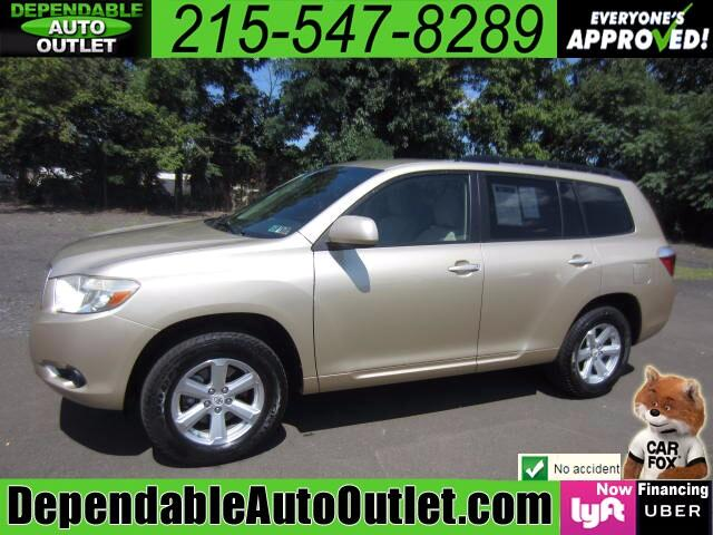 2008 Toyota Highlander V6 4WD with Third Row Seat
