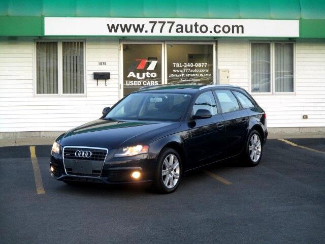 2009 Audi A4 Avant 2.0 T quattro Premium Package
