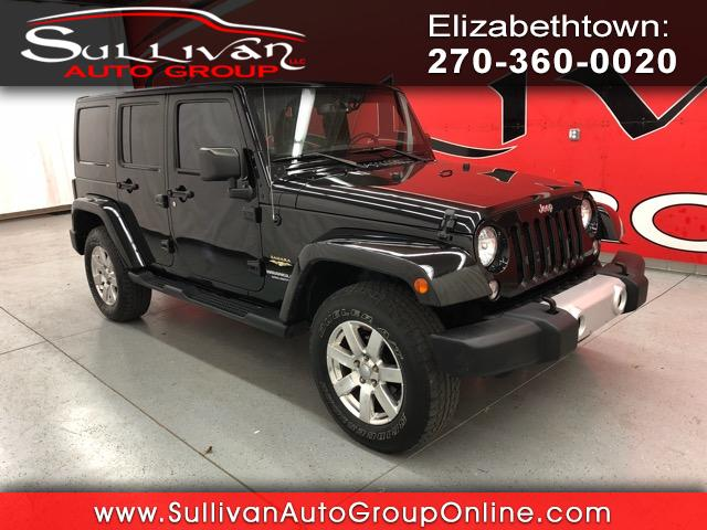 2014 Jeep Wrangler 4WD 4dr Unlimited Sahara
