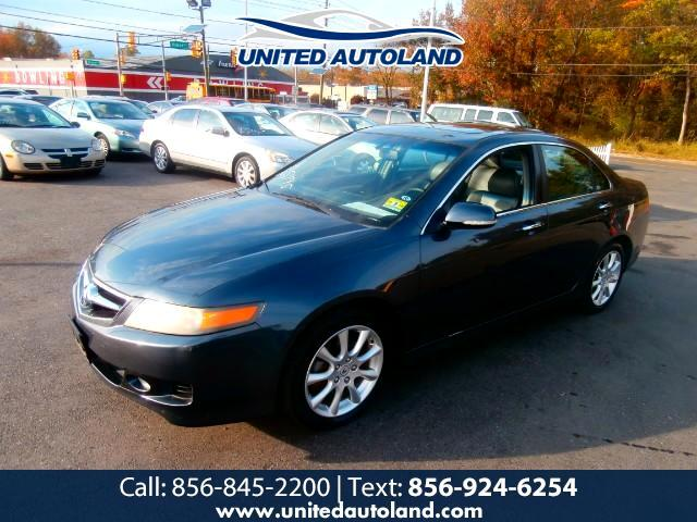 2007 Acura TSX 5-speed AT