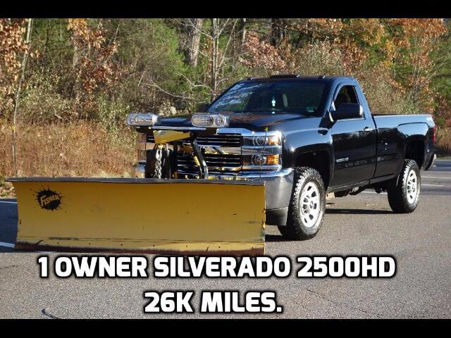 2015 Chevrolet Silverado 2500HD Reg. Cab 4WD