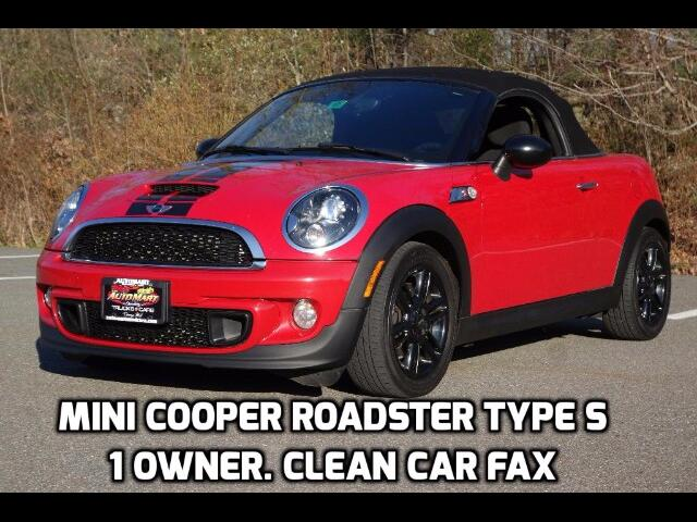 2013 MINI Roadster S