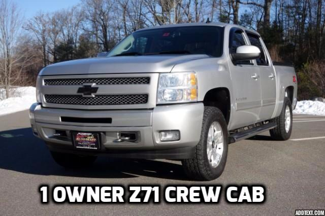 2011 Chevrolet Silverado 1500 Z71 Crew Cab 4WD