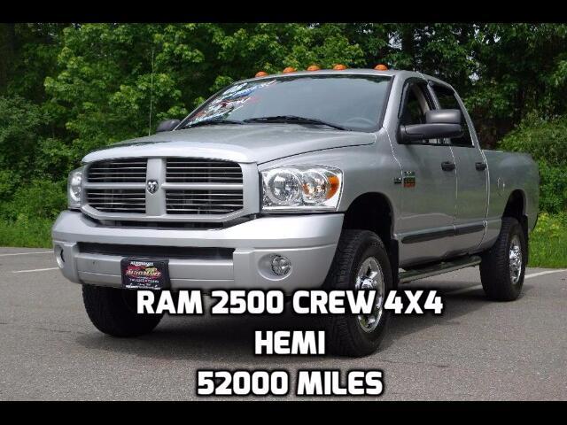 2008 Dodge Ram 2500 Laramie Quad Cab Long Bed 4WD