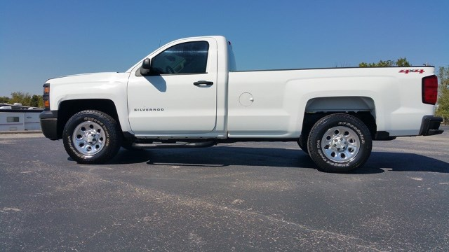 2014 Chevrolet Silverado 1500 Reg. Cab Long Bed 4WD