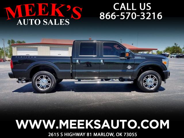 2013 Ford F-250 SD Platinum Crew Cab Short Bed 4WD