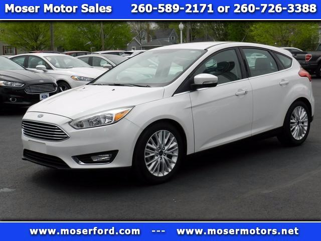 2016 Ford Focus Titanium Hatch