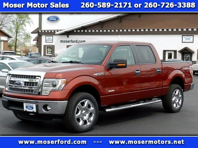2014 Ford F-150 XLT SuperCrew 5.5-ft. Bed 4WD