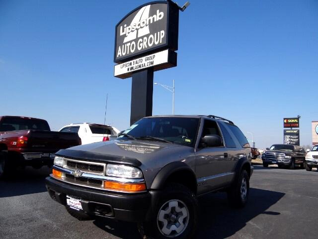2002 Chevrolet Blazer 2-Door 4WD LS