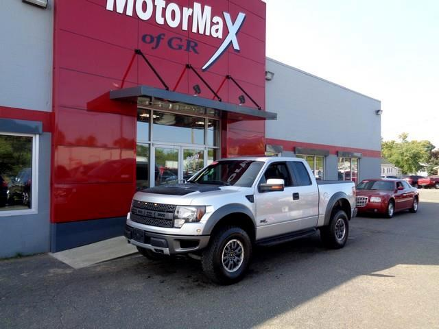 2011 Ford F-150 SVT Raptor SuperCab 5.5-ft. Bed 4WD