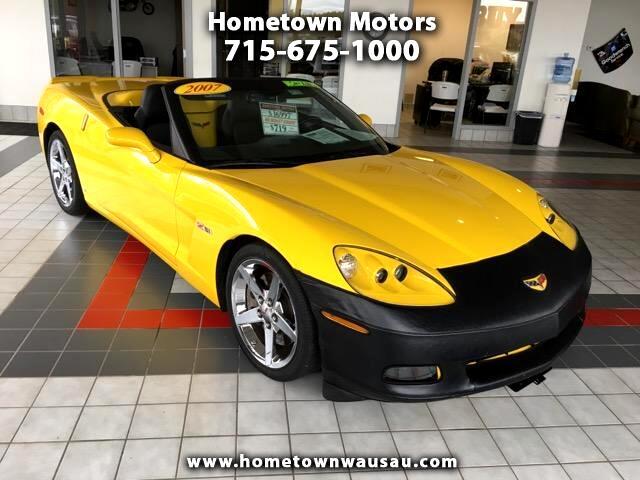 2007 Chevrolet Corvette Z51 3LT Convertible