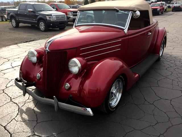 1936 Ford Cabriolet leather