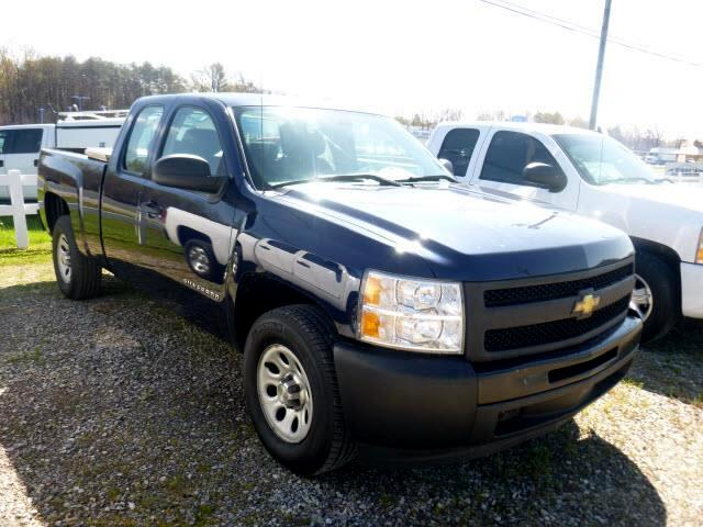 used 2010 chevrolet silverado 1500 work truck extended cab. Black Bedroom Furniture Sets. Home Design Ideas