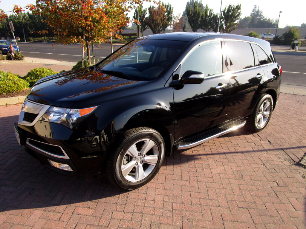 2012 Acura MDX AWD*LEATHER HEATED SEATS*SATELLITE*CAMERA*
