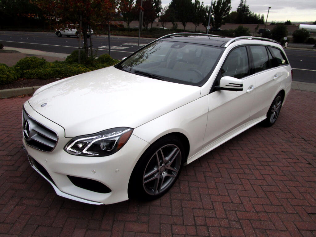 2015 Mercedes-Benz E-Class Wagon E350S4 AWD 4MATIC**AMG SPORT*DRIVER ASSIST*PANO*PA