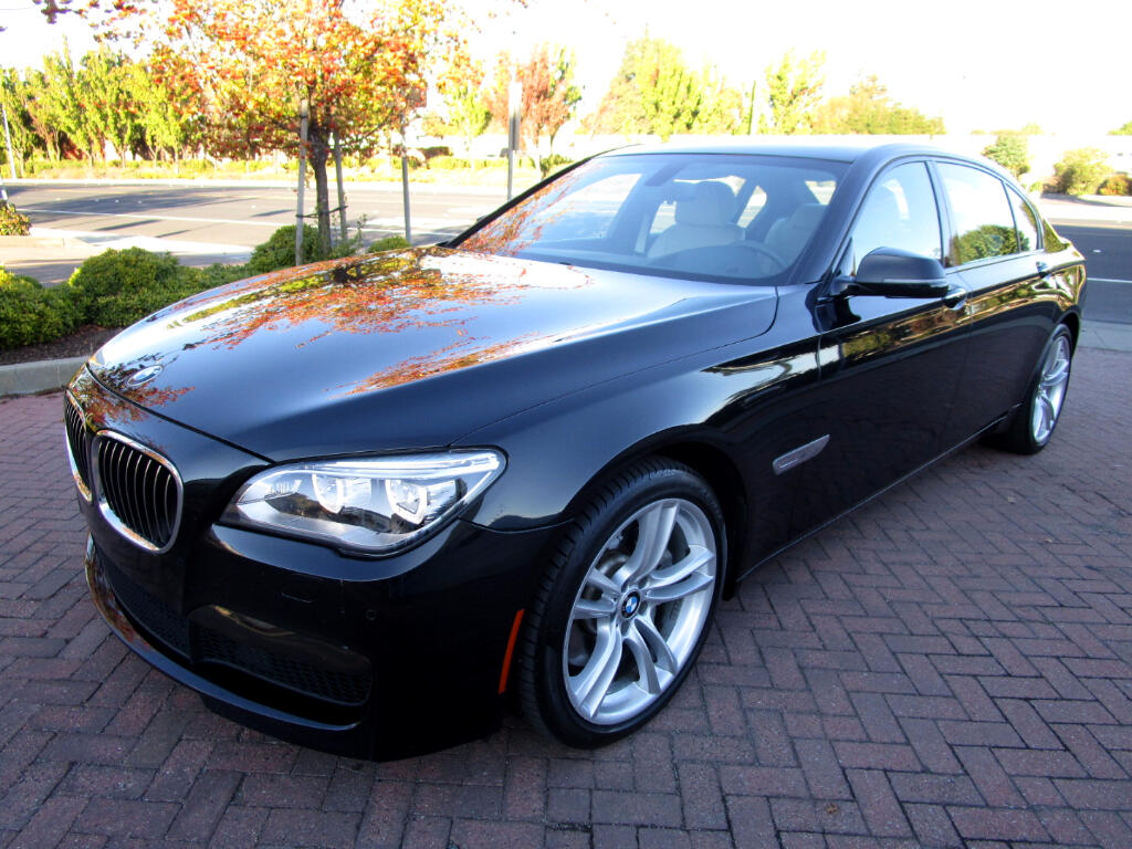 2013 BMW 750Li M SPORT-PREMIUM PKG*CLD WEATHER PKG*LUX SEATS*