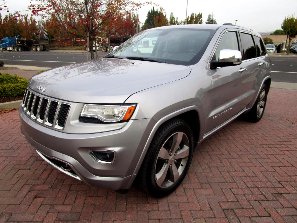 2014 Jeep Grand Cherokee OVERLAND 4WD*PANO ROOF*HEATED-VENTED SEATS*R/HEAT