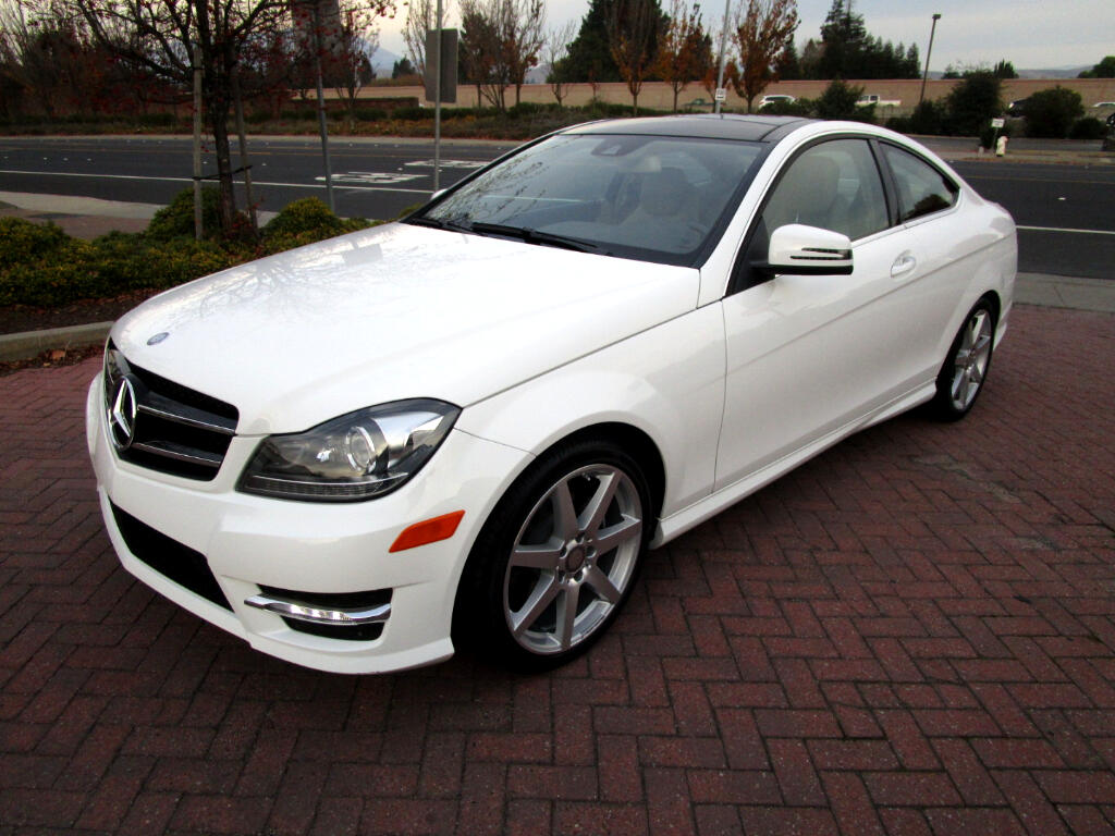 2015 Mercedes-Benz C-Class C250 COUPE*NAV*HEATED SEATS*BLIND SPOT*