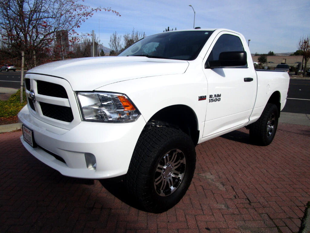 2015 RAM 1500 5.7 HEMI EXPRESS REGULAR CAB 4X4 WITH 6'' LIFT