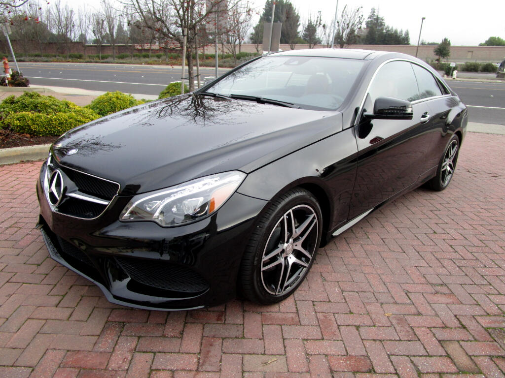 2016 Mercedes-Benz E-Class E400 COUPE**AMG SPORT-PREMIUM-NIGHT PACKAGE**