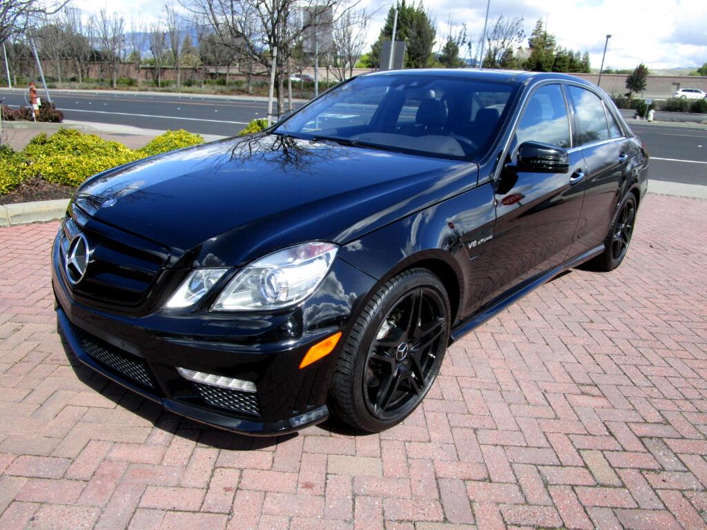 2012 Mercedes-Benz E-Class E63 V8 VITURBO AMG**HEAT/AC SEATS*PANOROOF*KEYLESS